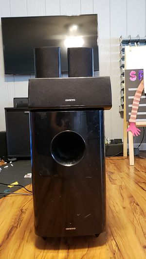 Home Theater Speaker set up for Sale in Winter Park, FL