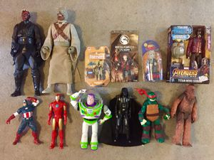 Action Figure Lot for Sale in Portland, OR