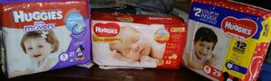 Huggies Diapers $5 a PACK for Sale in McKees Rocks, PA