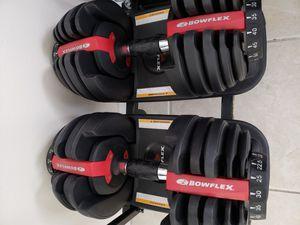 Bowflex adjustable dumbbells for Sale in Pompano Beach, FL