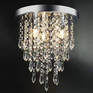 3 Lights Mini Crystal Chandelier Fixture for Bedroom, Hallway, Bar, Living Room, Dining Room, Chrome for Sale in Henderson, NV