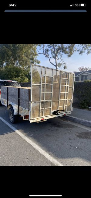 Utility trailer 6x10 for Sale in Spring Valley, CA
