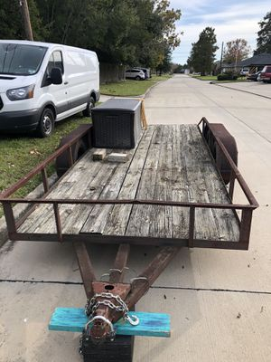 """16"""" trailer for Sale in Humble, TX"""