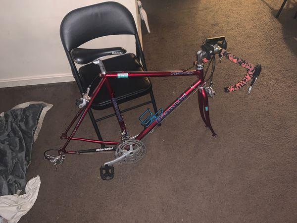 Bianchi racein bike