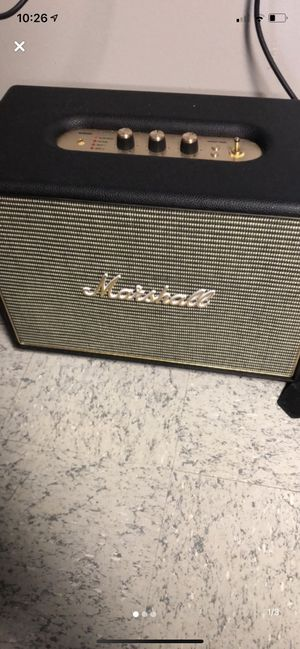 Marshall Woburn Bluetooth Speaker for Sale in Cloverdale, OH