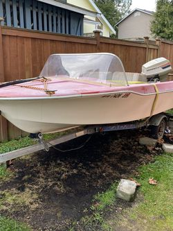 Project Boat And Trailer for Sale in Lake Stevens,  WA