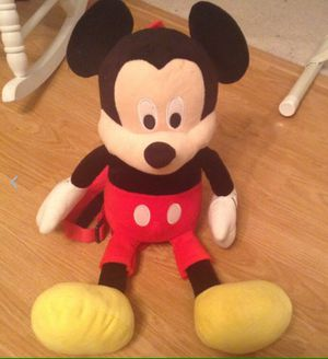 Walt Disney World new without tags Mickey Mouse Plush Doll Backpack for Sale in Strongsville, OH