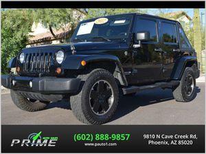 2012 Jeep Wrangler Unlimited for Sale in Phoenix, AZ