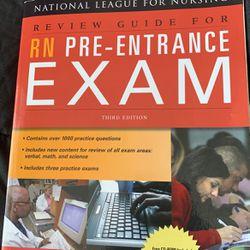 RN Pre Entrance Exam NLN Book for Sale in Schaumburg,  IL
