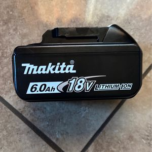 6.0 Makita Battery New for Sale in Sacramento, CA