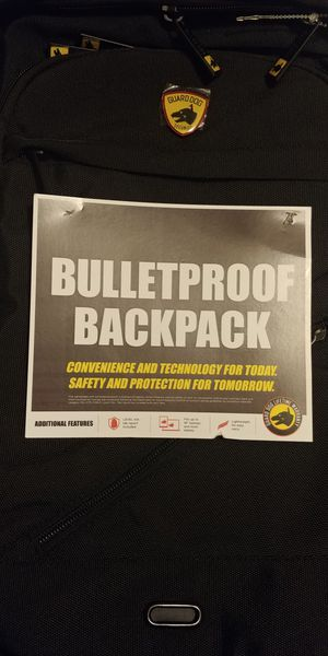 Guard dog bulletproof backpack for Sale in Pearl, MS