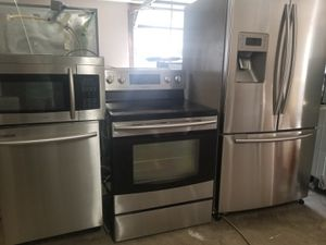 Samsung stainless steel appliances for Sale in FL, US