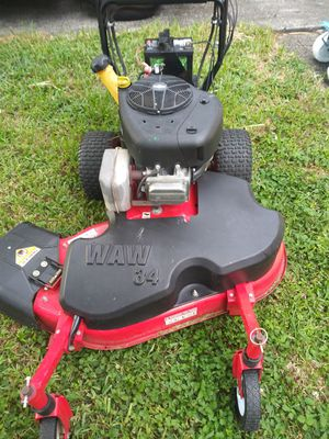 Gravely 34 WAW commercial mower in mint condition! for Sale in Vero Beach, FL