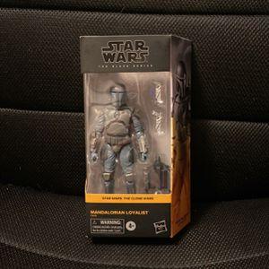 Star Wars Black Series Mandalorian Loyalist Clone Wars for Sale in San Jose, CA