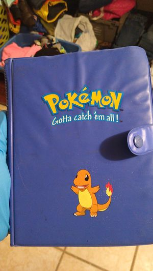 Pokemon card collections book great shape for Sale in New Haven, CT