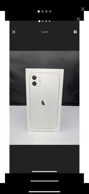 WHITE IPHONE 11 for Sale in North Las Vegas, NV