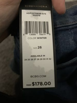 BCBG jeans size 26 for Sale in Falls Church, VA