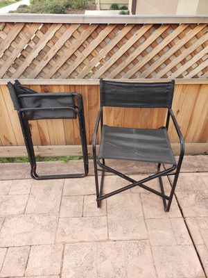 2 folding chairs. for Sale in Hollister, CA