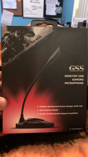 NEW GAMING MICROPHONE for Sale in Ontario, CA