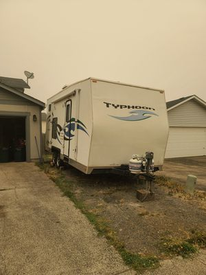 2012 typhoon camper toy hauler for Sale in Vancouver, WA