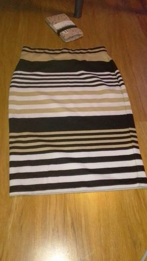 Striped pencil skirt for Sale in Pflugerville, TX