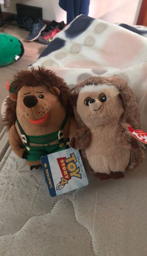 Toy story and ty hedgehogs for Sale in Niagara Falls, NY