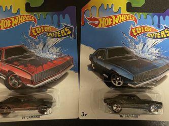 Hot Wheels 67 Camaro Color Shifters for Sale in Escondido,  CA