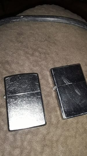 2 zippo lighters for Sale in Camas, WA