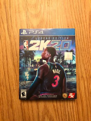 2K20 Legend Edition—mint condition for Sale in Malden, MA