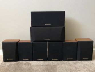 Pioneer Home Theater Surround Speakers $5 Each for Sale in Mount Prospect,  IL
