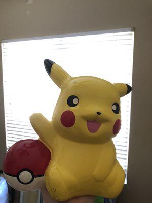 Pokémon Pikachu Piggy Bank for Sale in Scottsdale, AZ