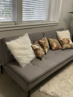 Dania Sofa Bed and Matching Ottoman for Sale in Kirkland,  WA