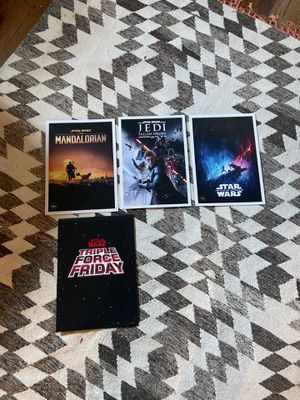 Star Wars Commemorative Lithograth Set of 3 from Triple Force Friday for Sale in Cranford, NJ