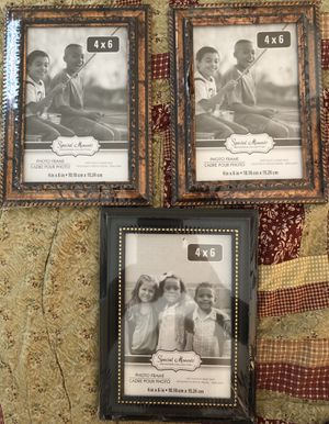 4 X 6 PHOTO FRAMES for Sale in Colonial Heights, VA