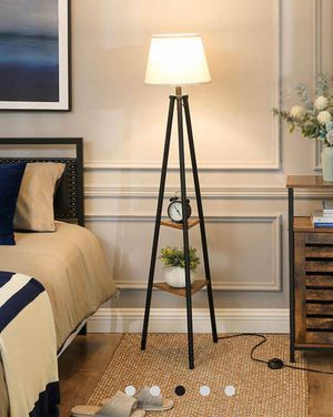 Floor Lamp with Shelves for Sale in Chino, CA
