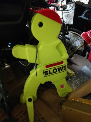 Traffic dummy to slow traffic down on your streets for Sale in Cypress, TX