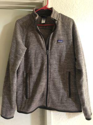 Patagonia men's M brown zip up better fleece for Sale in San Jose, CA
