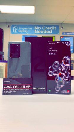 Samsung Galaxy S20 Ultra 5G 128gb Factory Unlocked - Like New! (30 Days Warranty) for Sale in Arlington,  TX
