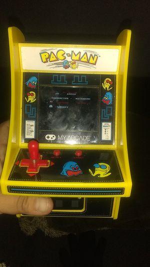PAC man mini arcade for Sale in E RNCHO DMNGZ, CA