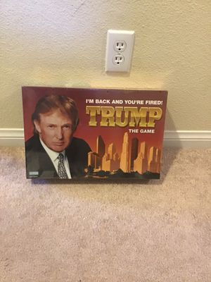 Vintage Donald Trump board game sealed new for Sale in Las Vegas, NV