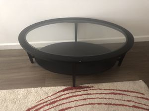 coffee table with self for Sale in Miami, FL