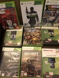 Xbox 360 games for Sale in Staunton,  VA