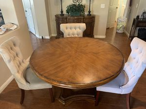Round Ashely Furniture Breakfast Table/ Buffet Table for Sale in Las Vegas, NV