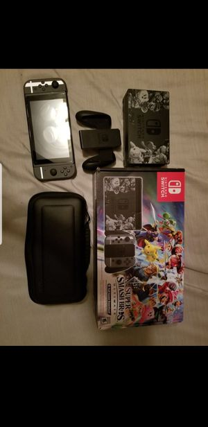Nintendo Switch Smash Bros Edition for Sale in Wahneta, FL