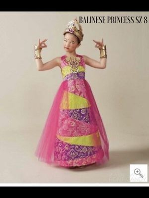 NEW Chasing Fireflies BALINESE PRINCESS Pink Costume Girls Size 8 for Sale in Arlington, VA