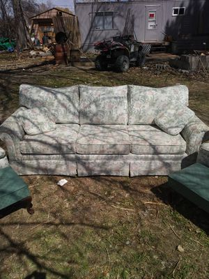 Couch-chairs-lamps for Sale in Helena, MT