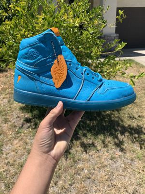 Jordan 1 retro high Blue lagoon for Sale in Carmichael, CA