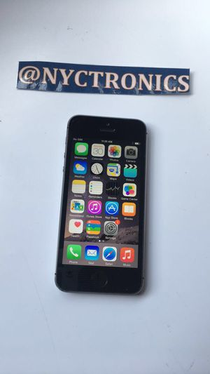 Apple IPhone 5S T-Mobile 16GB Space Grey Smartphone for Sale for sale  Brooklyn, NY