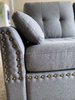 Grey couch for Sale in Aurora,  CO