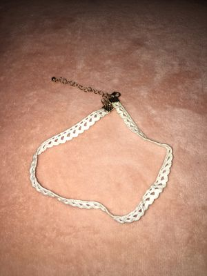 White choker for Sale in Brambleton, VA